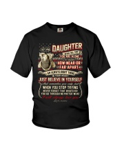 Veteran Near Or Far Apart Daughter Youth T-Shirt thumbnail