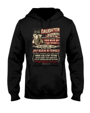 Veteran Near Or Far Apart Daughter Hooded Sweatshirt thumbnail