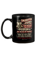 Veteran Near Or Far Apart Daughter Mug back