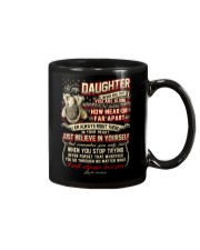 Veteran Near Or Far Apart Daughter Mug front