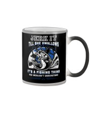 It's A Fishing Thing Fishing Color Changing Mug thumbnail