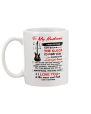 Instruments Guitar Husband Clock Ability Moon Mug back