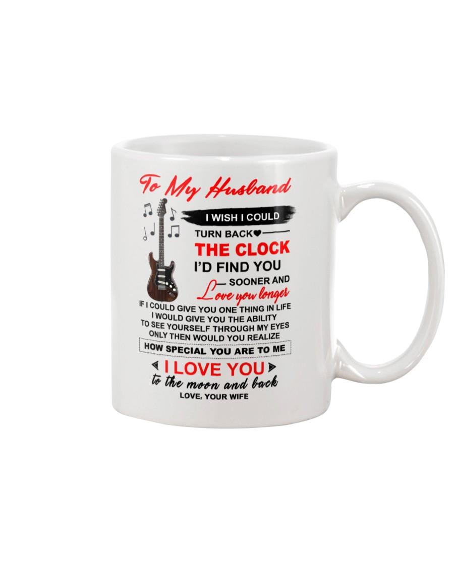 Instruments Guitar Husband Clock Ability Moon Mug