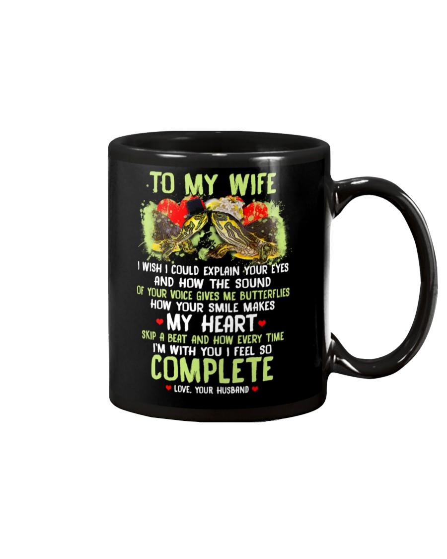 I Wish I Could Explain Your Eyes Turtle Mug