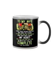 I Wish I Could Explain Your Eyes Turtle Color Changing Mug thumbnail
