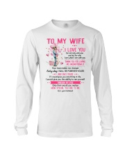 I Love You For Not Only Who You Are Family  Long Sleeve Tee thumbnail