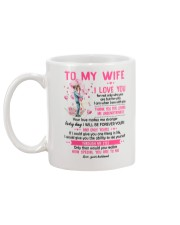 I Love You For Not Only Who You Are Family  Mug back