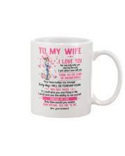 I Love You For Not Only Who You Are Family  Mug front