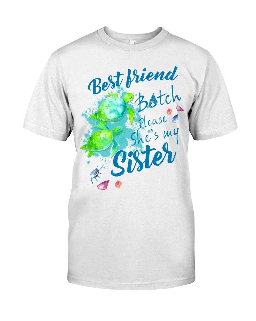 Best Friend Turtle Classic T-Shirt