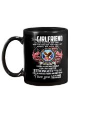 Veteran Love Makes Me Stronger Girlfriend Mug back