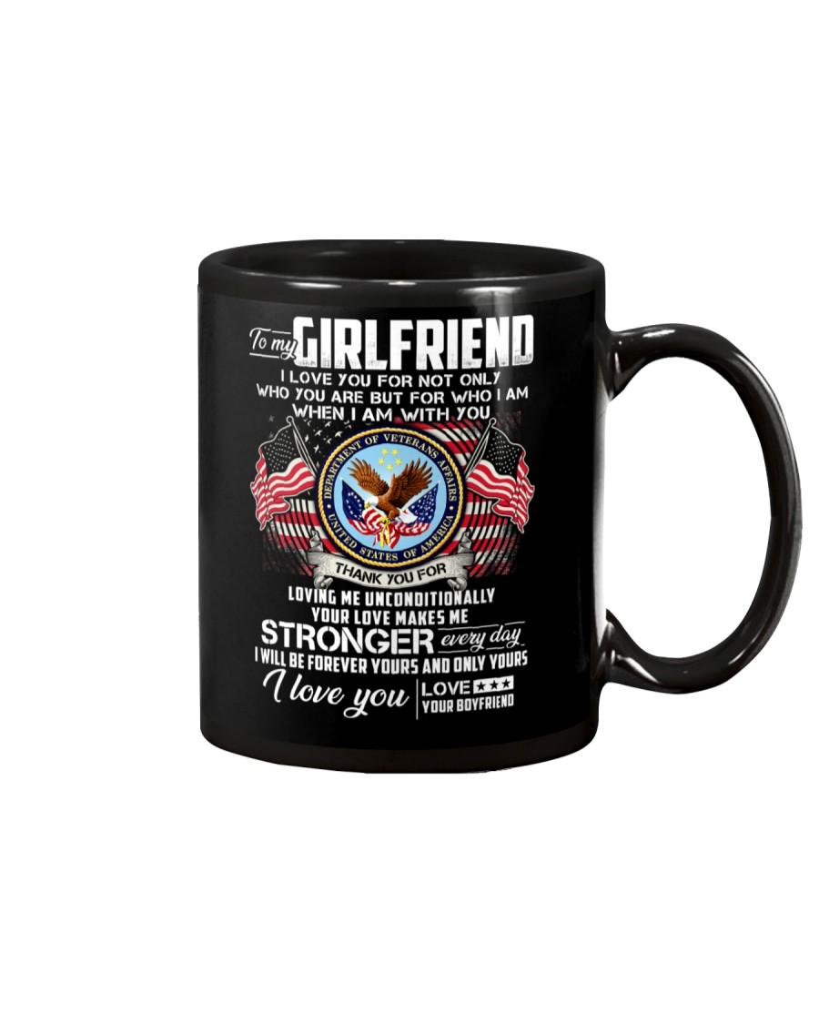 Veteran Love Makes Me Stronger Girlfriend Mug