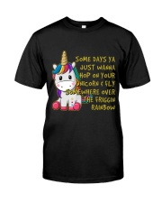 Just Wanna Hop On Your Unicorn Classic T-Shirt front