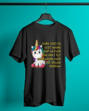 Just Wanna Hop On Your Unicorn Classic T-Shirt lifestyle-mens-crewneck-front-3