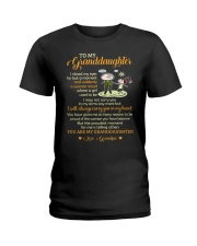 To My Grandpa I Closed My Eyes For But A Moment  Ladies T-Shirt thumbnail