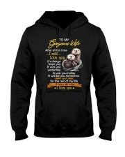 After All This Time I Still Love You Otter Hooded Sweatshirt thumbnail
