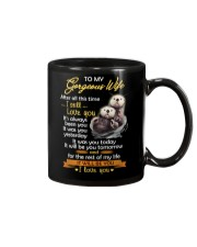 After All This Time I Still Love You Otter Mug front