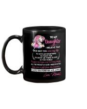 I Believe That God Sent You Into My Life Unicorn  Mug back