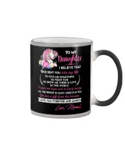 I Believe That God Sent You Into My Life Unicorn  Color Changing Mug thumbnail