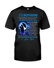 Family Boyfriend Last Man You Ever Loved Classic T-Shirt thumbnail