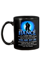 Family Fiance You Are My Life Mug back