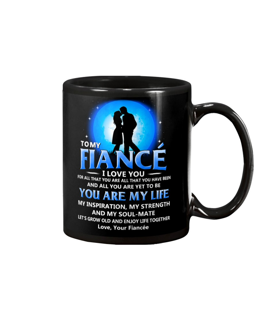 Family Fiance You Are My Life Mug