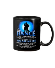 Family Fiance You Are My Life Mug tile