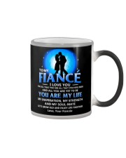 Family Fiance You Are My Life Color Changing Mug tile