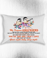 Girlfriend Wife Good Night Baby Sleep Tight  Rectangular Pillowcase aos-pillow-rectangle-front-lifestyle-4