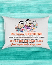 Girlfriend Wife Good Night Baby Sleep Tight  Rectangular Pillowcase aos-pillow-rectangle-front-lifestyle-5