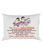 Girlfriend Wife Good Night Baby Sleep Tight  Rectangular Pillowcase back