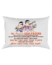 Girlfriend Wife Good Night Baby Sleep Tight  Rectangular Pillowcase front