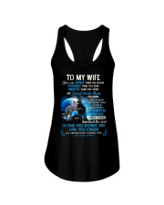I'll Never Stop Loving You Wolf Ladies Flowy Tank thumbnail