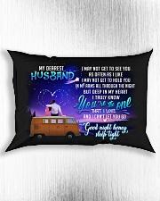 Camping Husband Good Night Honey Sleep Tight Rectangular Pillowcase aos-pillow-rectangle-front-lifestyle-4