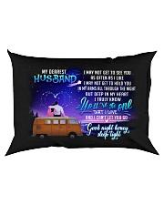 Camping Husband Good Night Honey Sleep Tight Rectangular Pillowcase back