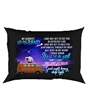 Camping Husband Good Night Honey Sleep Tight Rectangular Pillowcase front