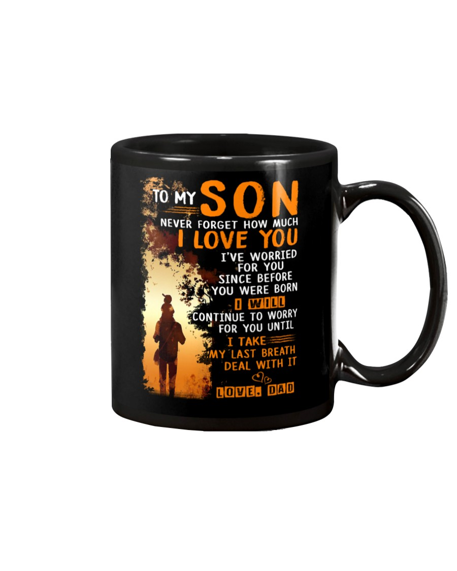 Deal With It Son Mug