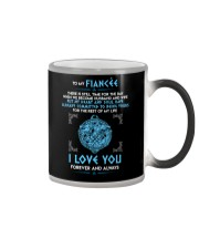 There Is Still Time For The Day Wolf  Color Changing Mug thumbnail