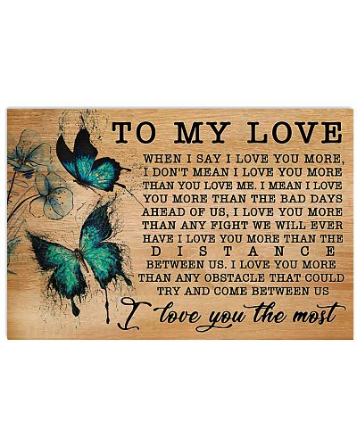 Butterfly I Love You More GG V1
