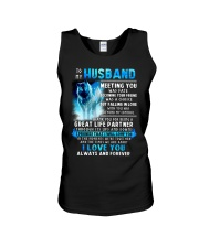 Wolf Husband Ups And Downs Love  Unisex Tank tile