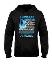 Wolf Husband Ups And Downs Love  Hooded Sweatshirt tile