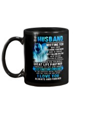 Wolf Husband Ups And Downs Love  Mug back