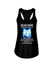 Thanks For Being My Mom Wolf   Ladies Flowy Tank thumbnail