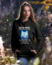 Thanks For Being My Mom Wolf   Hooded Sweatshirt lifestyle-holiday-hoodie-front-5