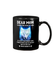 Thanks For Being My Mom Wolf   Mug thumbnail