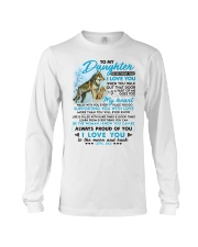 Wolf Walk Out That Door Daughter Long Sleeve Tee tile