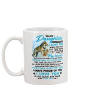 Wolf Walk Out That Door Daughter Mug back