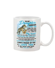 Wolf Walk Out That Door Daughter Mug tile