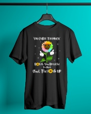 You Curse Too Much Funny Classic T-Shirt lifestyle-mens-crewneck-front-3