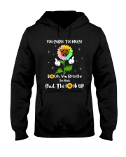 You Curse Too Much Funny Hooded Sweatshirt thumbnail