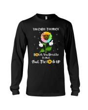 You Curse Too Much Funny Long Sleeve Tee thumbnail